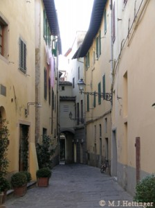 Medieval Street - Pistoia