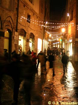 Winter Rush Hour - Siena